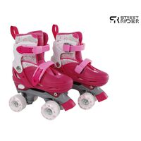 Street Rider Rolschaatsen verstelbaar 27-30 roze