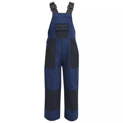 vidaXL Kinderoverall maat 110/116 blauw