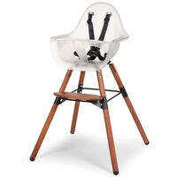 CHILDHOME 2-in-1 Kinderstoel met bumper Evolu 2 transparant