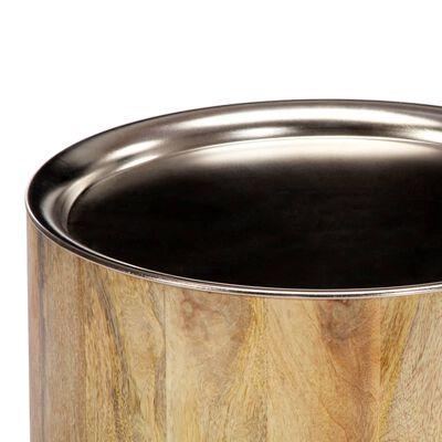vidaXL Salontafel 38x45 cm massief mangohout