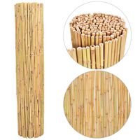 vidaXL Scherm 250x170 cm bamboe