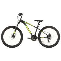vidaXL Mountainbike 21 versnellingen 27,5 in wielen 50 cm frame zwart