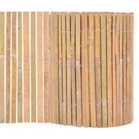vidaXL Scherm 1000x30 cm bamboe