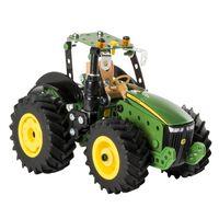 Meccano Tractormodelset John Deere 8RT groen zwart