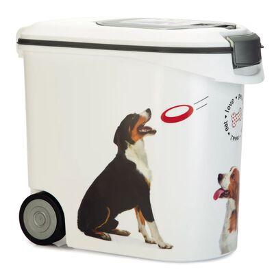 Curver Voedselcontainer hond met wielen 35 L