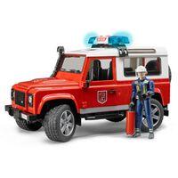 Bruder Brandweerwagen Land Rover Defender 1:16 02596