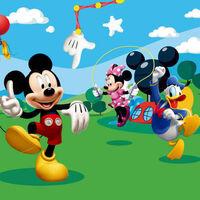 AG Design Fotobehang Mickey Mouse FTD0253
