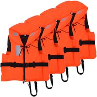 vidaXL Zwemvesten 100 N 70-90 kg 4 stuks