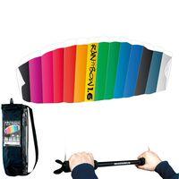 RHOMBUS Vlieger Regenboog ontwerp 160x55 cm