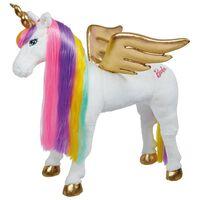 Barbie Eenhoorn regenboog met geluid 81 cm