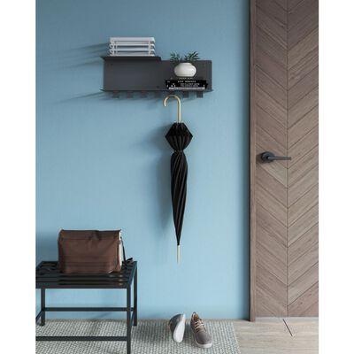 Gorillz Design® Plenck Wandkapstok Met Hoedenplank Moderne Muur Kap...