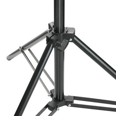 vidaXL Lampstatief 78-210 cm