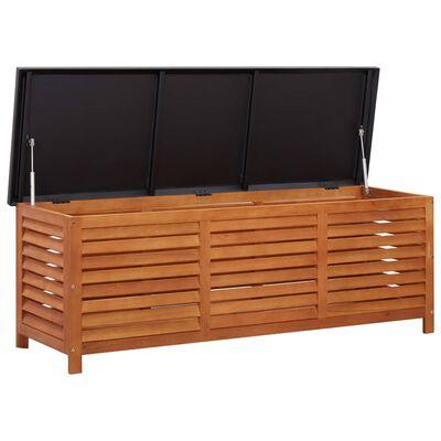 vidaXL Tuinbox 150x50x55 cm massief eucalyptushout