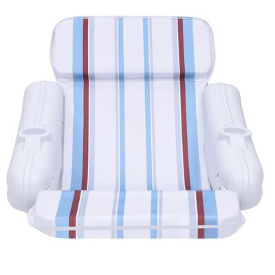 vidaXL Zwembadstoel drijvend 140x83x60 cm