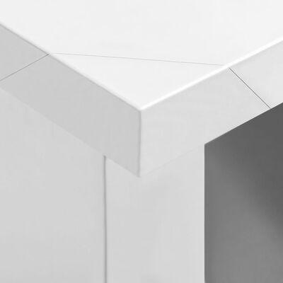 vidaXL Keukenwandkast 120x40x75 cm roestvrij staal