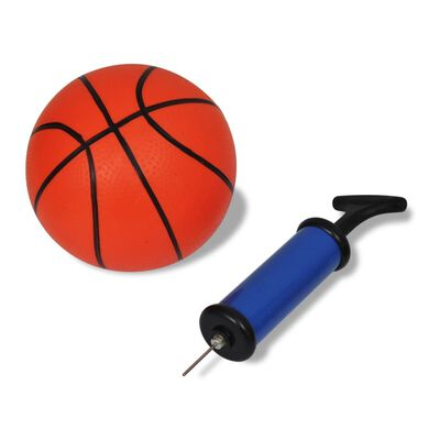 vidaXL Mini-basketbalset met bal en pomp