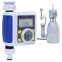 vidaXL Watertimer digitaal met enkele uitgang en regensensor
