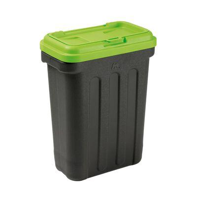 MAELSON Huisdier voedselcontainer 15 kg zwart en groen