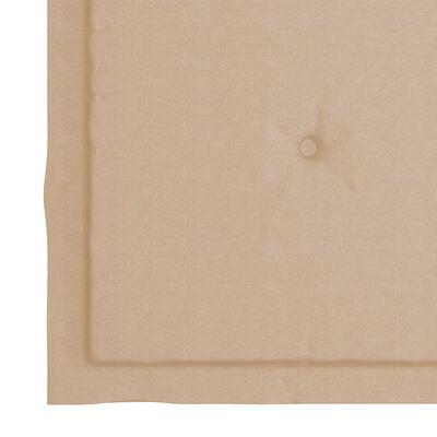 vidaXL Tuinstoelen 2 st inklapbaar met kussens massief acaciahout