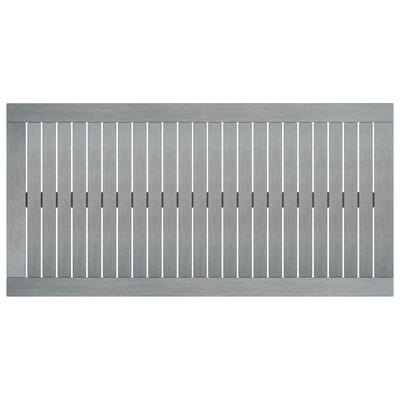 vidaXL Salontafel 100x50x33 cm massief acaciahout grijs