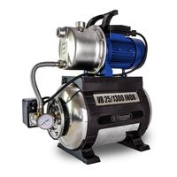Elpumps Boosterpomp 1300w 5400 L/h 4,8 Bar 25 L (vb 25/1300 Inox)
