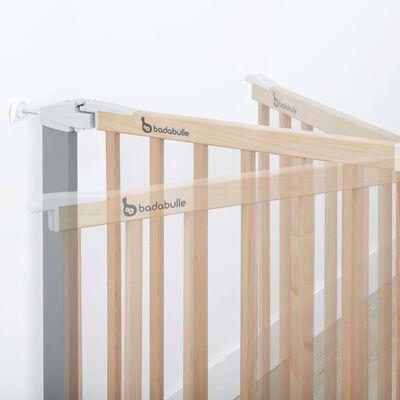 Badabulle Traphek Safe & Lock 73-81,5 cm hout en metaal grijs