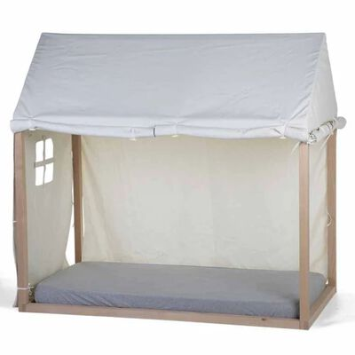 CHILDHOME Hoes voor huisbedframe 150x80x140 cm wit