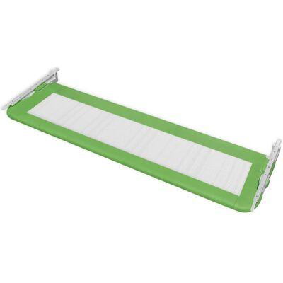 vidaXL Bedhekje peuter 150x42 cm groen