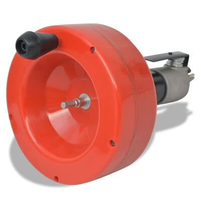 vidaXL Handmatig/boormachine-bedienbare leidingreiniger 8 m