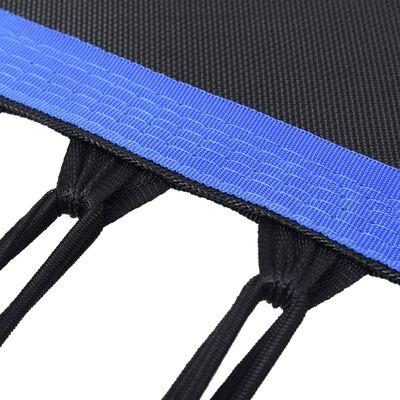 vidaXL Fitnesstrampoline met handgreep 122 cm