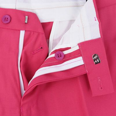 vidaXL Tweedelig pak met stropdas roze mannen maat 48