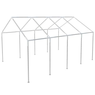 vidaXL Frame voor partytent 8x4 m staal