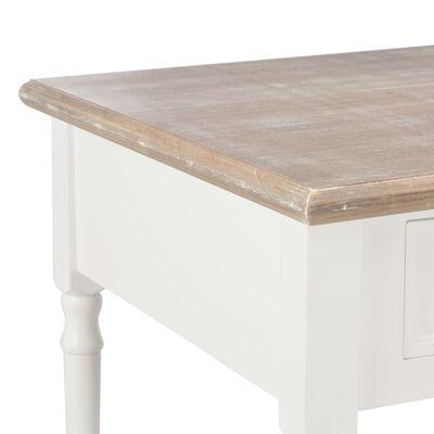 vidaXL Salontafel 100x55x45 cm hout wit