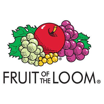 Fruit of the Loom T-shirts Original 5 st S katoen oranje