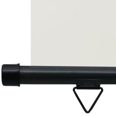 vidaXL Balkonscherm 100x250 cm crème
