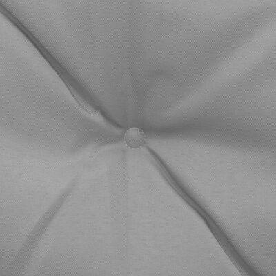 vidaXL Schommelstoelkussens 2 st 50 cm grijs