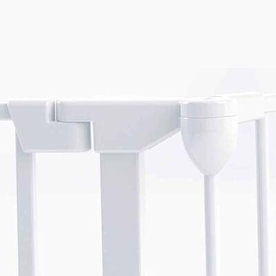 Noma Traphekje/box Modular metaal wit 6-delig 94023