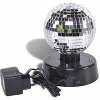 Party Fun Lights Roterende Discobol met Spiegels