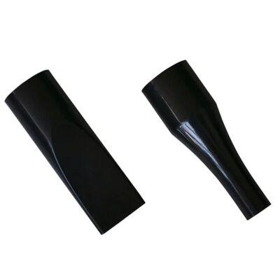 vidaXL Hondenföhn met 3 opzetstukken 2400 W zwart