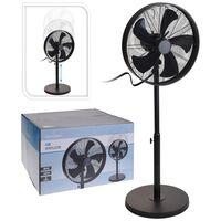 Excellent Electrics Ventilator staand 50 W 40 cm zwart