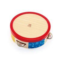 Hape houten tamboerijn 16,5 cm