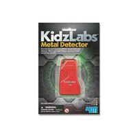 4M KidzLabs metaaldetector rood 7.5 cm