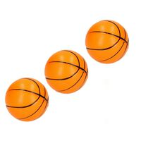 Banzaa Stressbal Medium Density 3 stuks – 7cm Basketbal