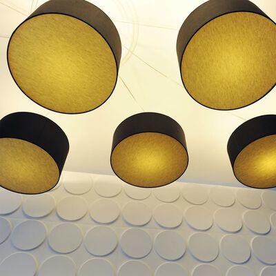 WallArt 3D Wandpanelen Ellipses 12 stuks GA-WA03