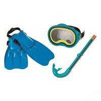 Intex 55952 Master Class Snorkelset 4-delig Blauw