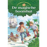 Deltas verhalenboek De magische boomhut spannend 20 cm