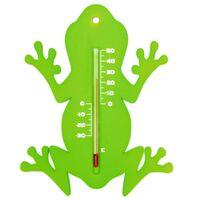 Nature Wandthermometer kikker groen