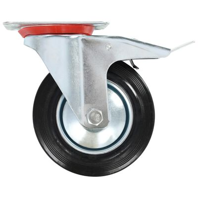 vidaXL Zwenkwielen 4 st 160 mm