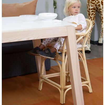 CHILDHOME Kinderstoel met kussen Montana rattan