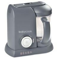 Beaba Babyvoeding machine 4-in-1 Babycook Solo 1100 ml donkergrijs